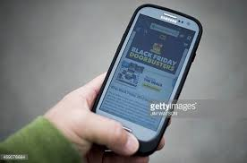 best cell phone deals black friday black friday advertisements stock photos and pictures getty images
