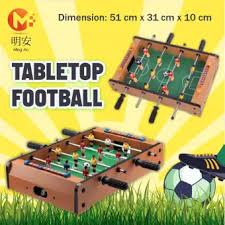 electronic table football game wooden football table game foosball lazada singapore