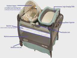 Playpen Bassinet Changing Table Changing Tables Eddie Bauer Playpen With Changing Table Eddie