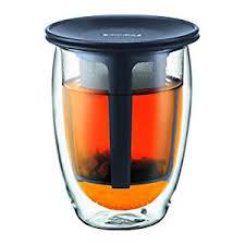 bicchieri bodum bodum tea for one bicchiere da tã con filtro in plastica â molto