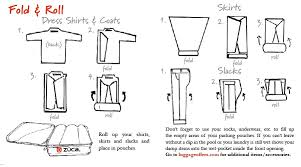How To Fold Dress Shirt For Travel images How to pack carry on luggage zuca only the best gifts online jpg
