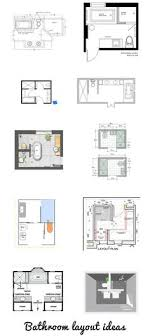 Modern Bathroom Plans Master Bathroom Floor Plans Realize That Ours Has The Hallway On