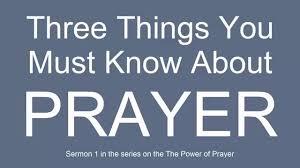 sermon on gratitude thanksgiving sermon 1 three things you must know about prayer youtube