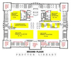 proctor library director s blog floor floorplan http www flagler edu library library 2nd floor jpg