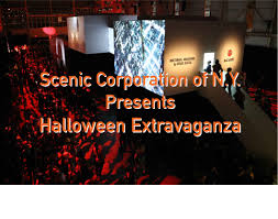 scenicorp with good sense u0026 company presents a halloween