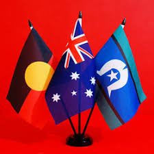 table top flag stands aboriginal flags