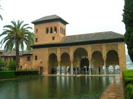 the most famous spanish style the alhambra where columbus had an