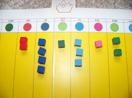 george family montessori at home montessori decimal board and