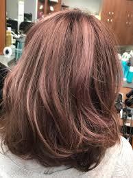rose gold hair color rose gold hair color for 2018 m2 salon nc at sola salon margy
