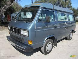 volkswagen vanagon 79 1987 dove blue metallic volkswagen vanagon gl camper 60753148