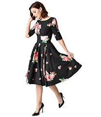 black dress company the pretty dress company black pink lamour floral print hepburn
