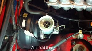how to check and add brake fluid to a suzuki x90 youtube