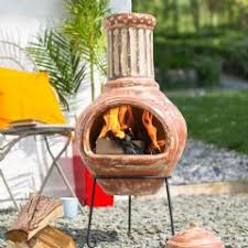 Red Clay Chiminea Clay Chimineas Sale Fast Delivery Greenfingers Com
