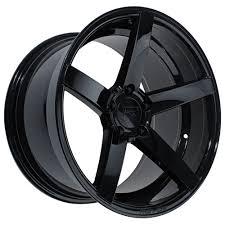 Black Mustang 2000 Rovos Mustang Durban Wheel 18