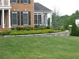 Four Seasons Landscaping by Front Landscaping Maryland Front Yard Landscape Design Md