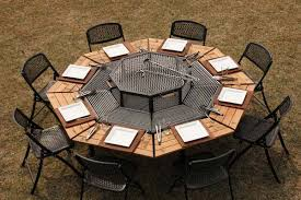 Bbq Tables Outdoor Furniture by This Is Your New Favorite Barbecue Picnic Table Top Inspirations