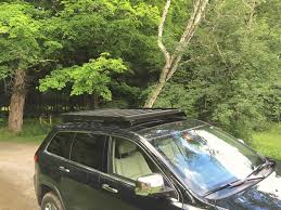 jeep kayak trailer jeep grand cherokee wk2 2011 current slimline ii roof rack kit