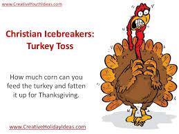 christian icebreakers turkey toss
