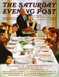 saturday evening post thanksgiving saturday evening post 1973
