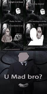 Slender Man Know Your Meme - poor shadowlurker slender man know your meme
