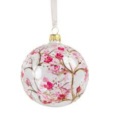 cherry blossom glass ornament national gallery of shops