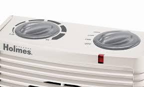 amazon com holmes portable desktop heater with comfort control