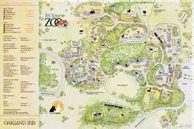 Oakland Map Oakland Zoo Map Adriftskateshop