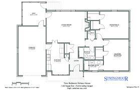 Floor Plan Of Two Bedroom House by Floor Plan Options For Our Houses Springmoor