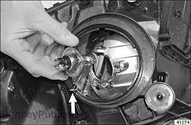 2012 toyota prius change toyota prius headlight bulb replacing tech bentley publishers