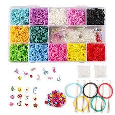 friendship bracelet rainbow images Ststech diy loom refill kit for crafting gadgets jpg