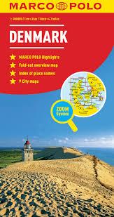 denmark marco polo map marco polo maps amazon co uk marco polo