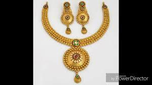 gold set gold necklaces set designs 22k gold necklaces