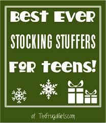 best ever stocking stuffers for teens from thefrugalgirls com