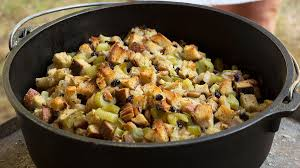 thanksgiving stuffing for two how to make stuffing in a dutch oven u2013 boys u0027 life magazine