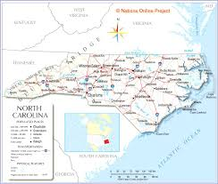 usa carolina map carolina state maps usa maps of carolina nc nc on us