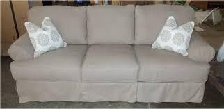 Slipcovers For Three Cushion Sofa 6 Cushion Sofa Slipcover Centerfieldbar Com