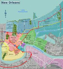 Maps Of New Orleans by File New Orleans Districts Map Grouped Png Wikimedia Commons