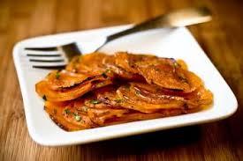 cuisiner la patate douce recettes patates douces confites recettes de cuisine française