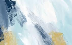 blue white gld paint brush stroke art desktop wallpaper background