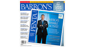 barron u0027s to publish its penta quarterly as a glossy magazine