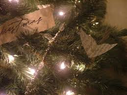 castleandcottagesigns the tree sheet music bird ornaments and