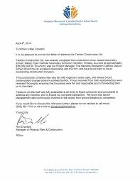 Reference Letter reference letters tambro construction