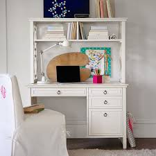 Small Desk With Hutch Elsie Desk Hutch Pbteen