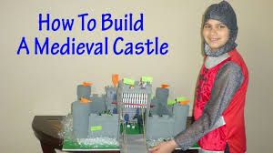 how to build a medieval castle project for youtube