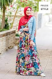 how to have a casual maxi look with hijab u2013 just trendy girls