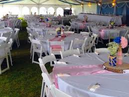 table and chair rentals miami baby shower party rental miami