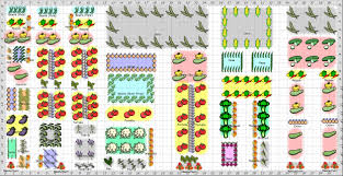 Flower Garden Layout Planner by Vegetable Garden Layout Planner Gardening Ideas