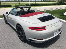 porsche 911 convertible 2018 2018 new porsche 911 carrera cabriolet at porsche west broward