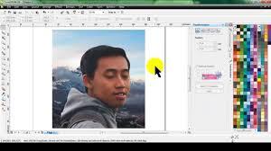 membuat gambar transparan di corel draw x7 mengubah background transparan di corel draw belajar coreldraw