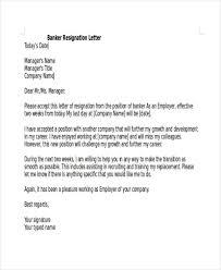 sample resignation letter template sample resignation letter